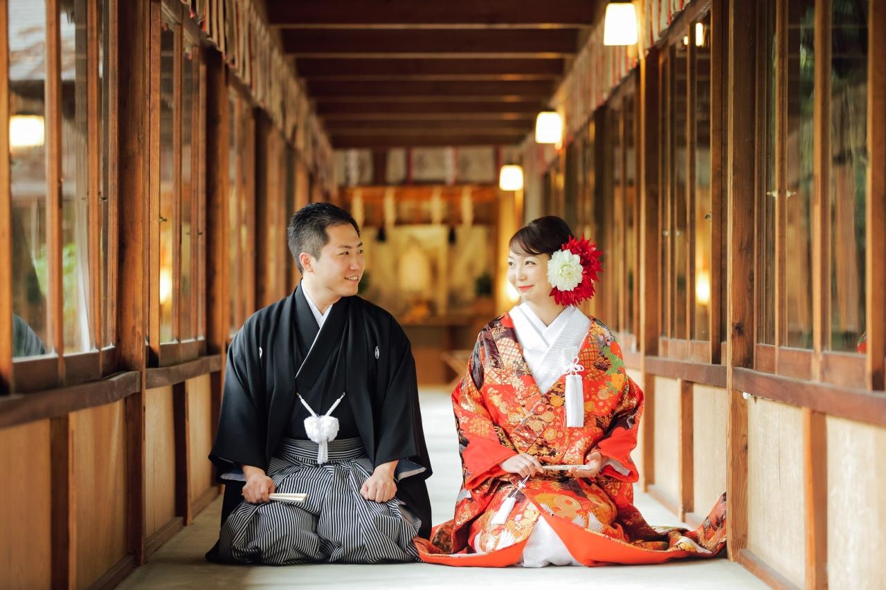 報徳二宮神社報徳会館 本格神前挙式+衣裳レンタルプラン -花蓮-