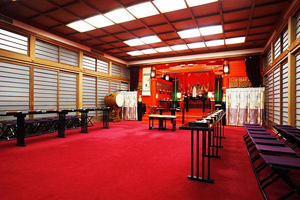 箱根神社挙式プラン 箱根神社での誓い