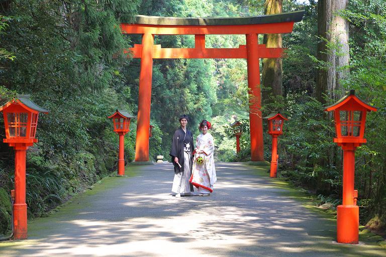 【箱根神社挙式とフォトプラン】
