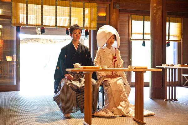 報徳二宮神社の神前式