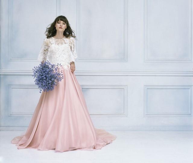 カラードレス 品番:LW2007(モーブピンク)