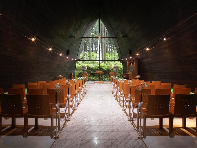 箱根の森高原教会・ ホテルグリーンプラザ箱根