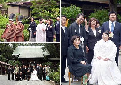 絆ウェディング 挙式 報徳二宮神社 報徳会館