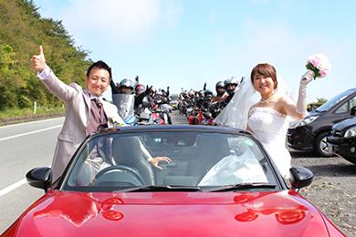 前回の「HOKONE WEDDING BRIDE」の様子
